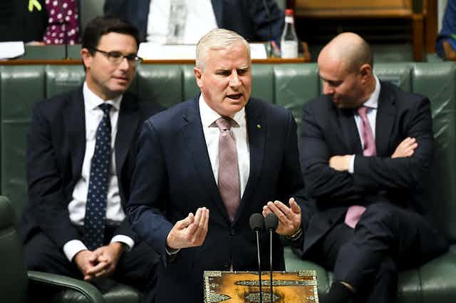 Michael McCormack during question time