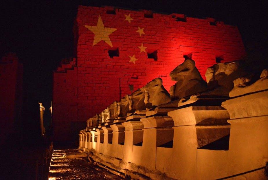 Louxor aux couleurs de la Chine