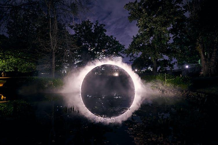 outdoor lightshow