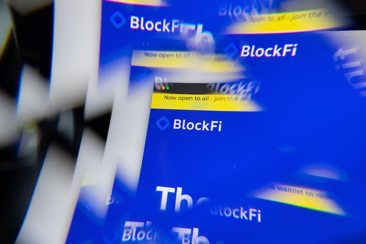Montage image of BlockFi