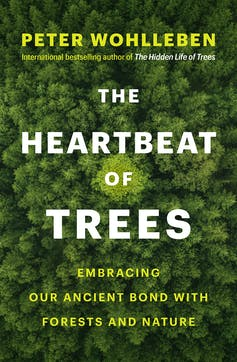 book cover. trees