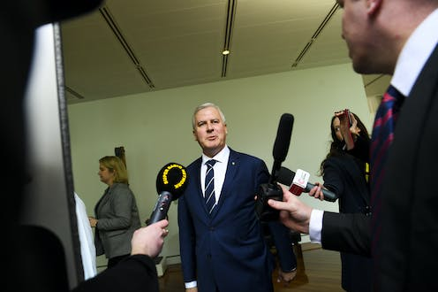 Michael McCormack, after the nationals party room meeting