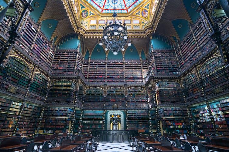 Le Cabinet royal portugais de lecture, Rio De Janeiro, Brésil