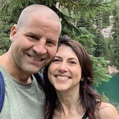 MacKenzie Scott and her husband Dan Jewett