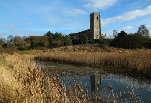 If I could go anywhere: the 'cathedral' at Blythburgh that rises from the marshes