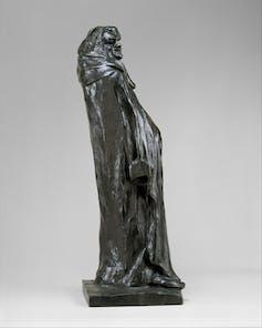 Statue of writer Honoré Balzac.