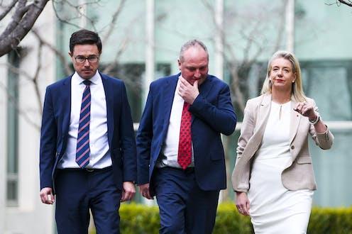 David Littleproud, Barnaby Joyce, Bridget McKenzie