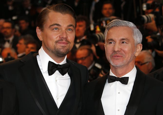 to make films is human to baz luhrmann divine leonardo dicaprio and luhrmann in 2013 ian langsdon epa