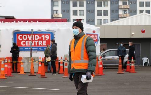 Covid-19 testing centra in Wellington