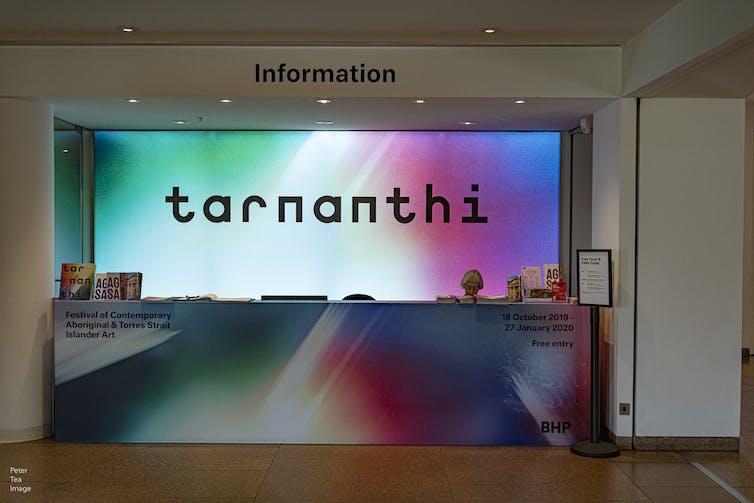 Tarnanthi information booth