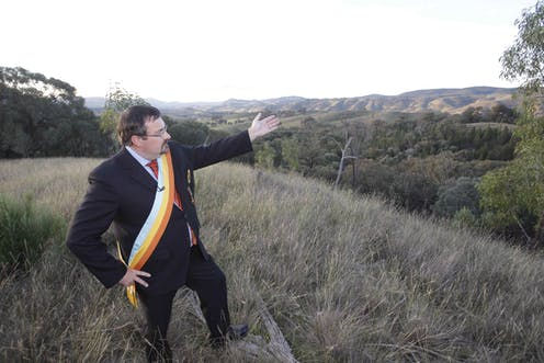 Imperial Majesty George II presents The Empire of Atlantium at Ried Flats, NSW.