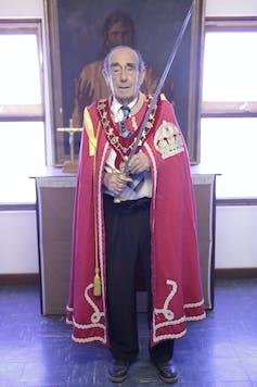Prince Leonard of the Hutt River Principality.