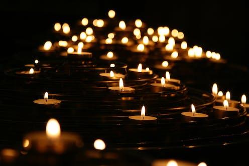 Tea light candles.