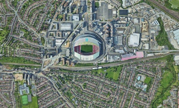 barrio de Wembley