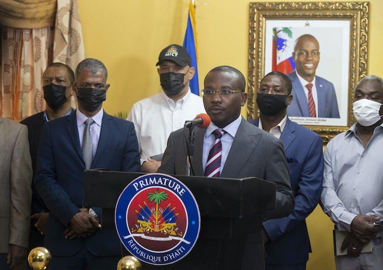 Haiti's interim Prime Minister, Claude Joseph