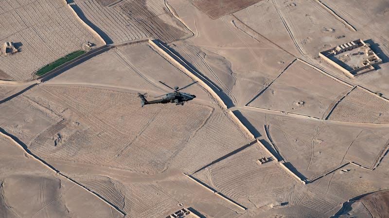 ¿Será la salida de las tropas de EE. UU. de Afganistán el fin de las misiones humanitarias?