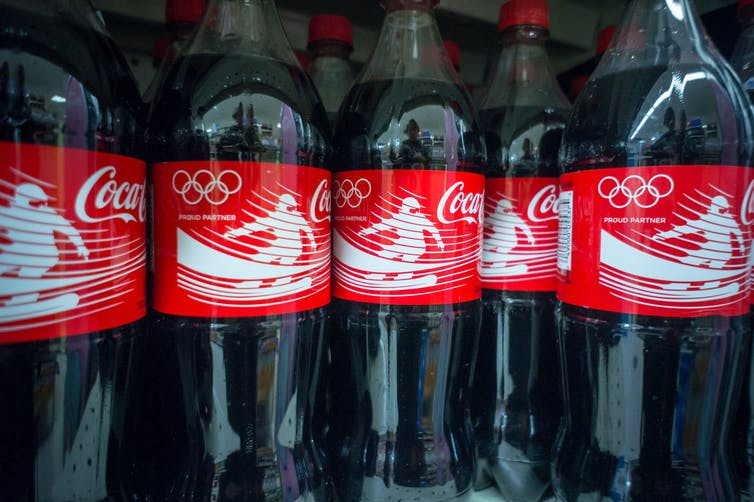 Coca-Cola has been a worldwide Olympic partner for years – a lack of spectators probably won't hurt them.