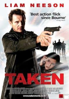 โปสเตอร์หนัง 'Taken'