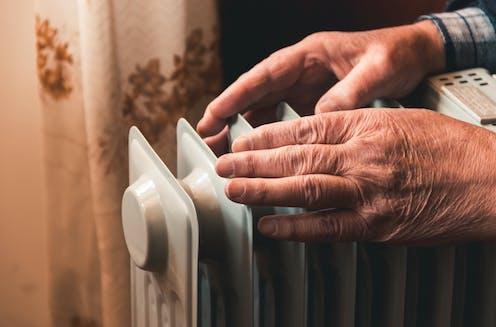 hands on heater