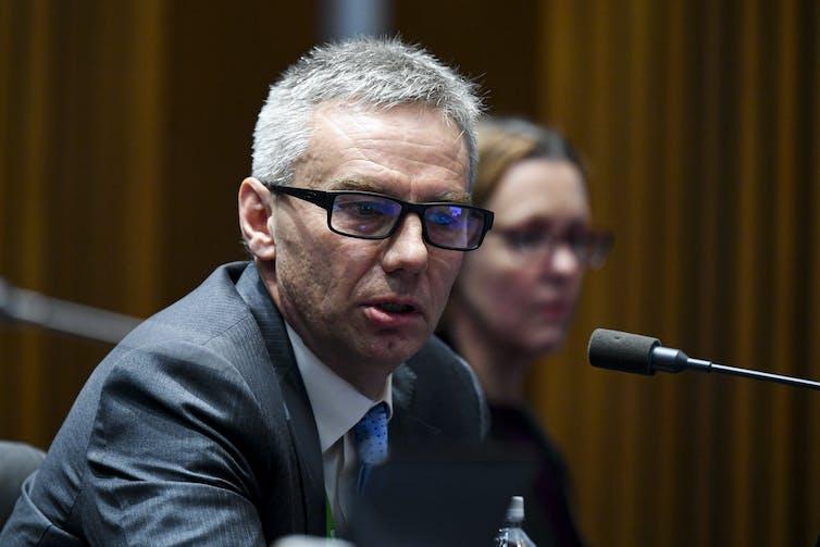 Australian National Audit Office executive director Brian Boyd