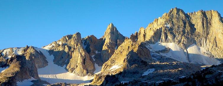 High Alpine terrain photo
