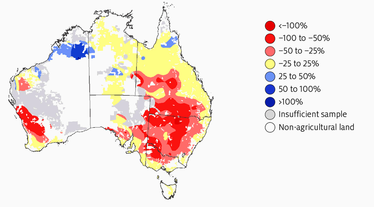 Australian farmers are adapting well to climate change, but there's work ahead