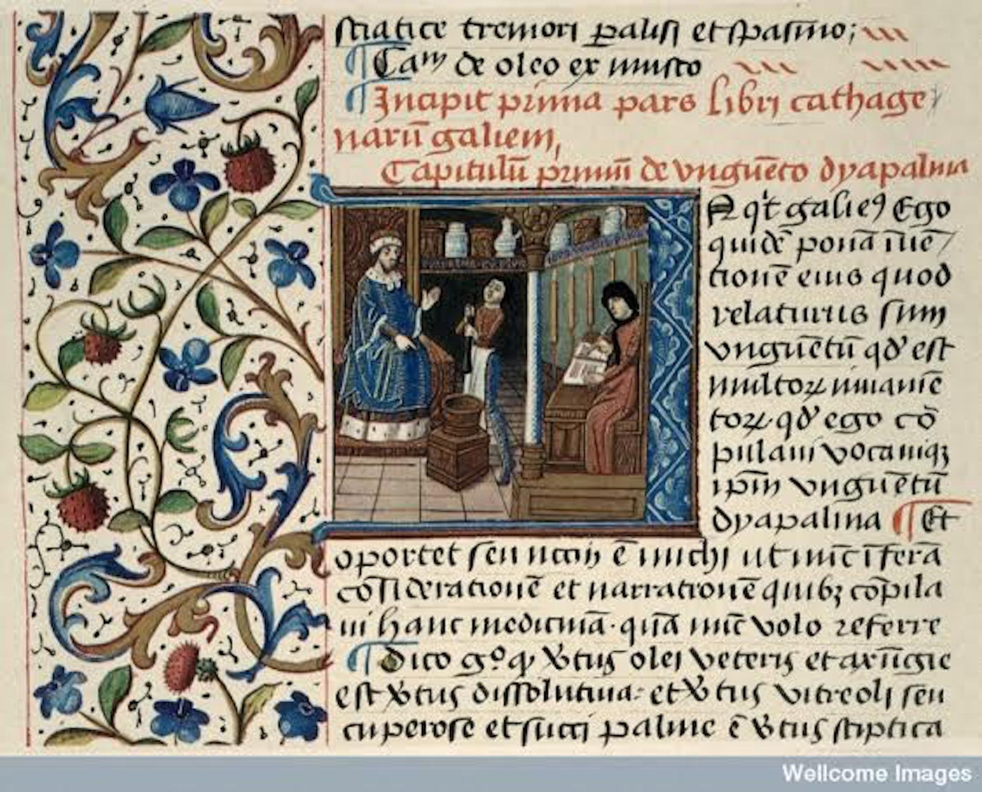 middle ages medicine timeline