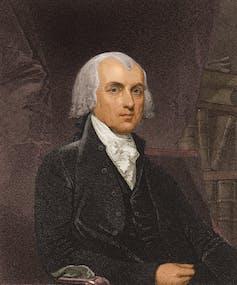 A portrait of James Madison