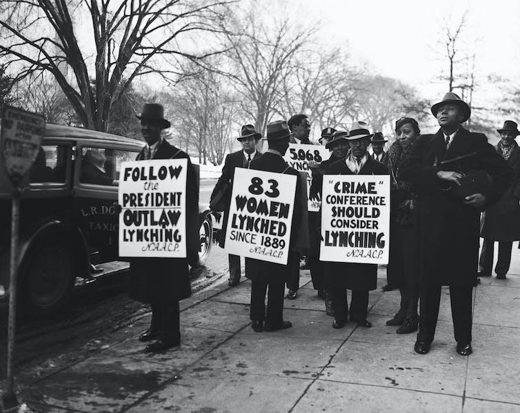 Anti-lynching protests in Washington, D.C.
