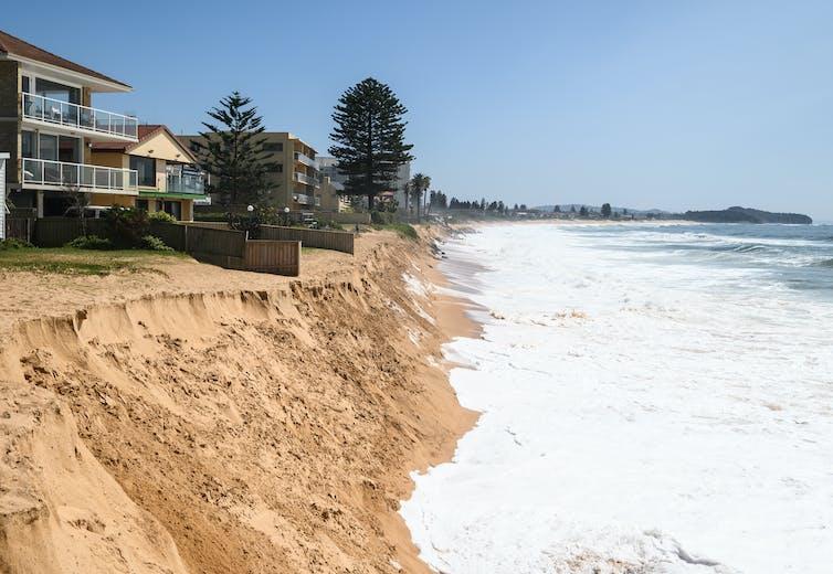 Homes on sand