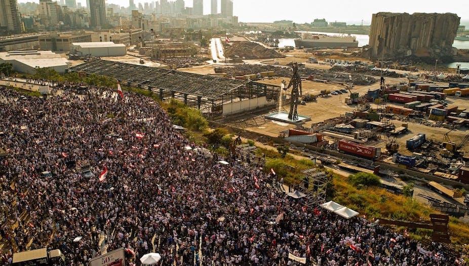 Manifestation à Beyrouth