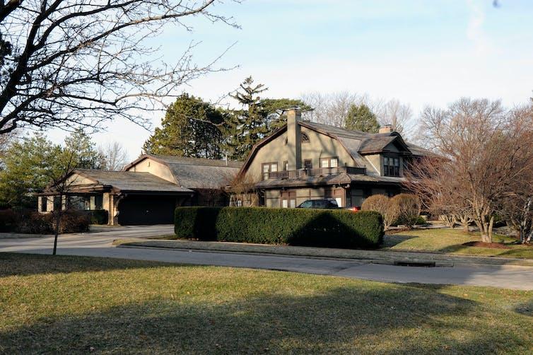 Warren Buffett's house in Omaha, Nebraska