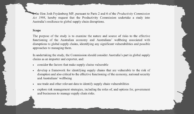 Mid-COVID, our investigation finds few vulnerabilities in Australia's supply chains