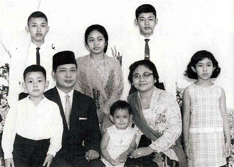 The Soeharto family