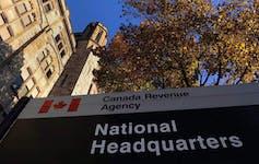 The Canada Revenue Agency headquarters in Ottawa in 2011.