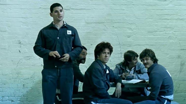 Jail scene