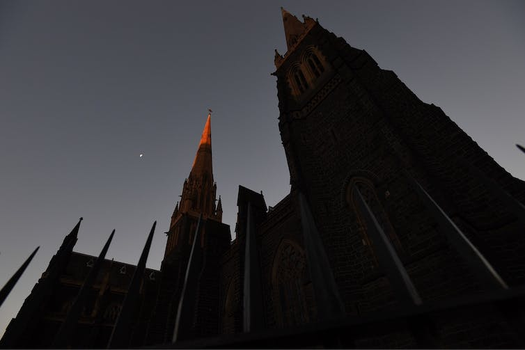 St Patrick's Cathedral in Melbourne.