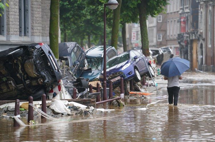 European floods photo