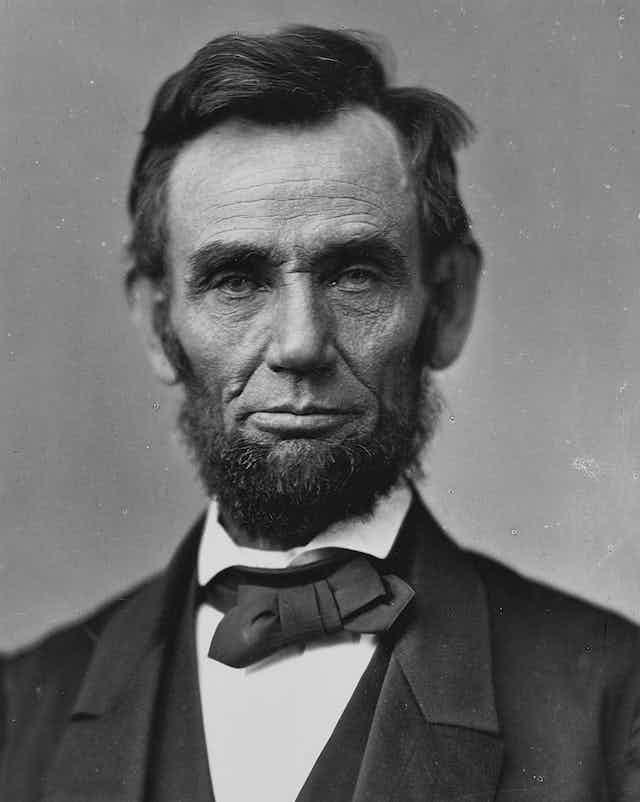 Retrato de Abraham Lincoln