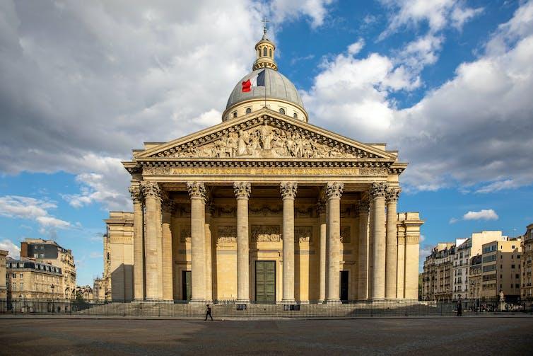 The Panthéon in Paris.