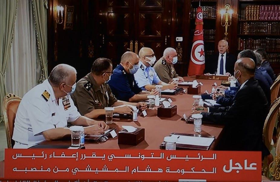 Kaïs Saïed annonce la dissolution du Parlement