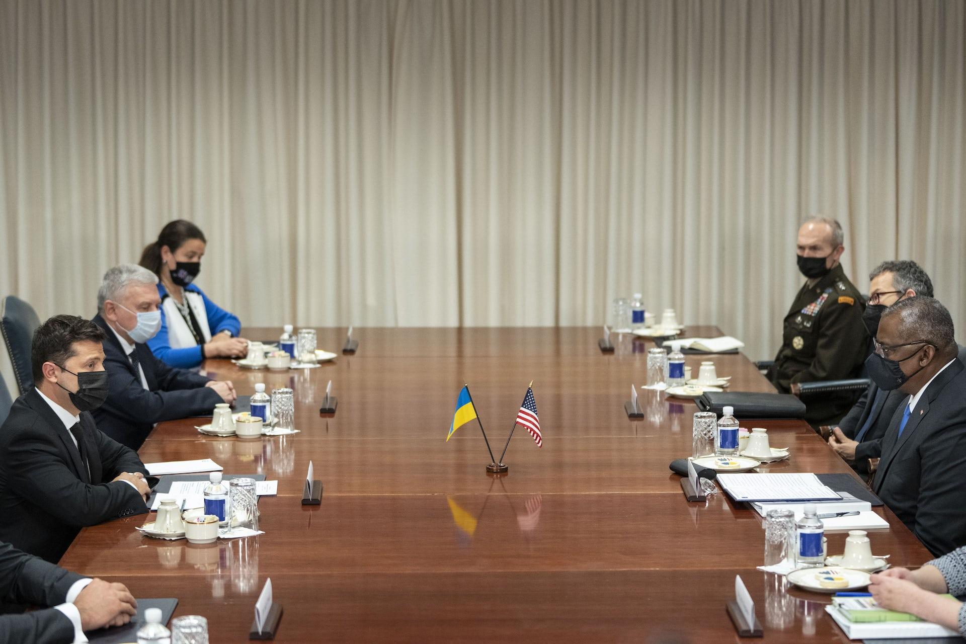 What's on the Agenda When Ukraine President Meets Biden?
