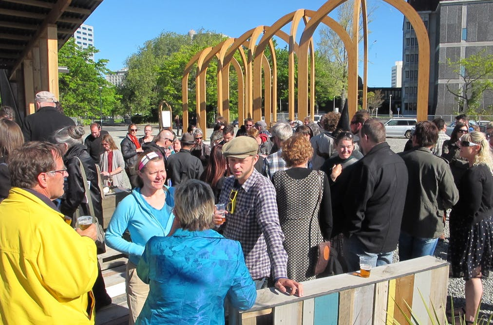 Christchurch five years on have politicians helped or for Architects creative christchurch
