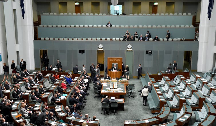 The data retention bill passed, forcing telecommunications providers to keep records of phone and internet use for two years, passing the lower house in 2014.