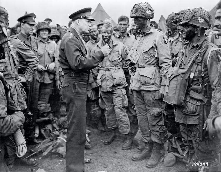 General Dwight D. Eisenhower in second world war.