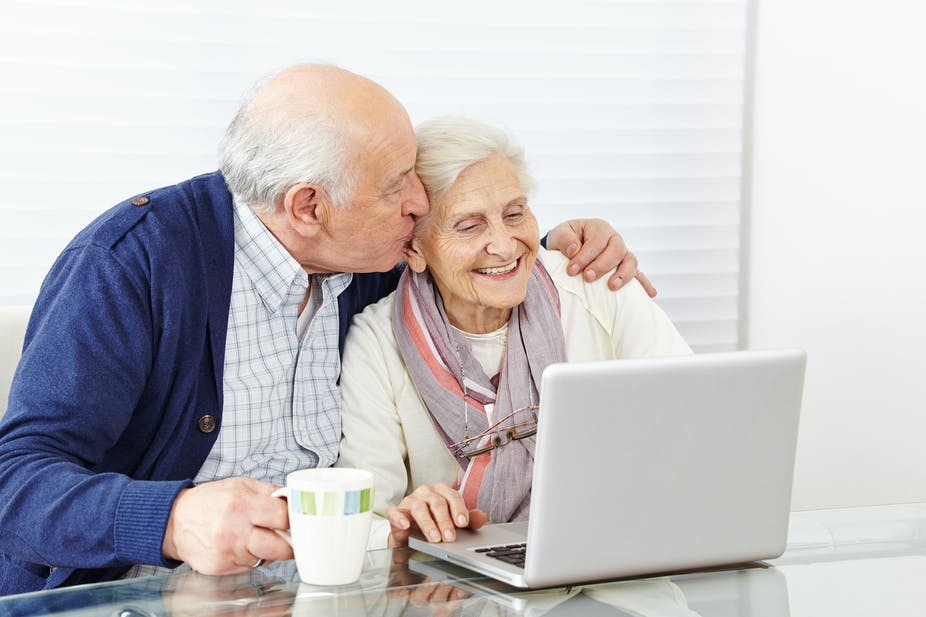 Online dating for carers