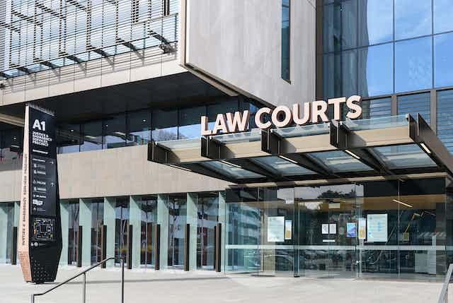 Christchurch High Court building