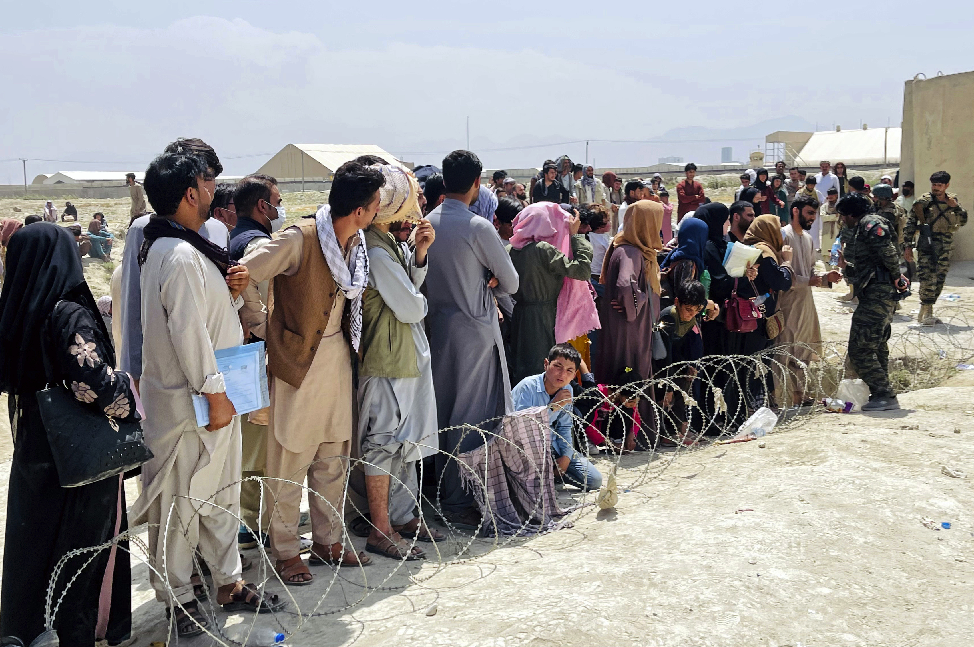 Perilous Situation for Afghan Allies Left Behind Shows a Refugee System That's Not Up to the Job