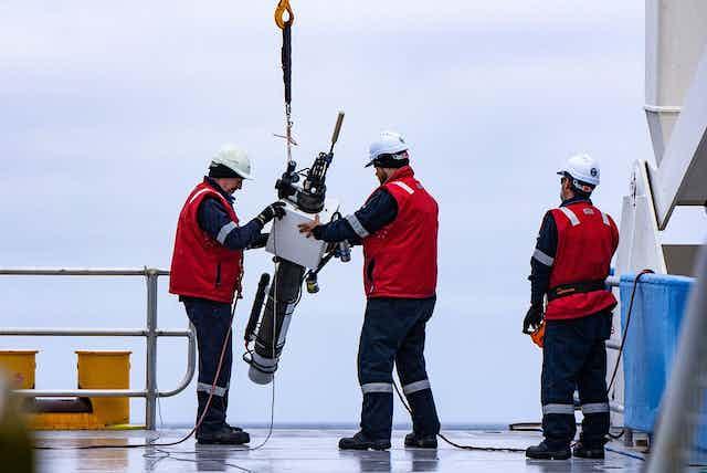 Researchers deploy an Argo float