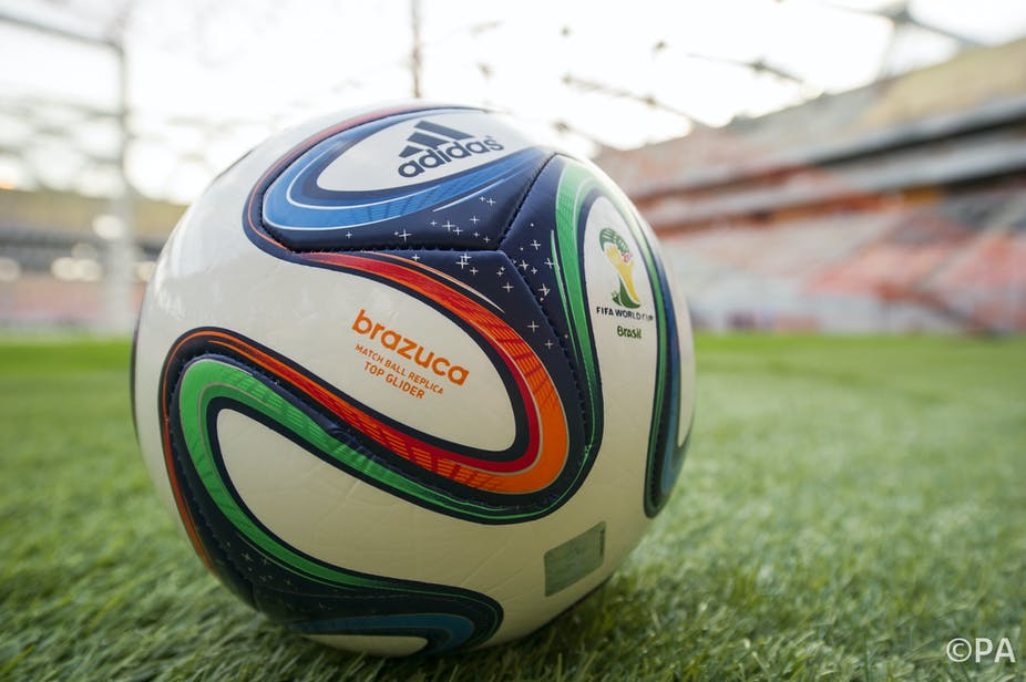 new product a36cb 0e3a9 Hard Evidence  how will the 2014 World Cup ball swerve